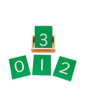 Montessori  Sandpaper Numbers
