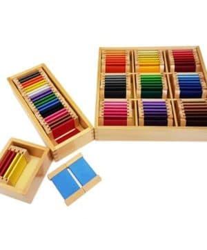 Montessori Colour Tablets - 3 Sets