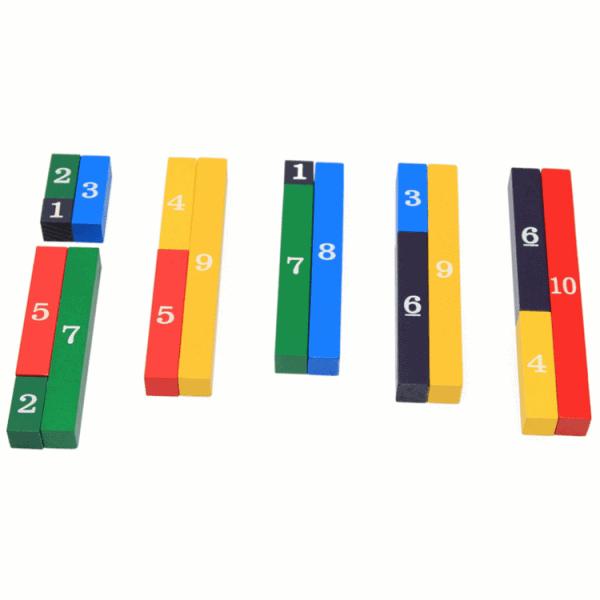 Number training development toy