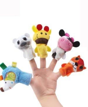 Finger Puppets Zoo Friends