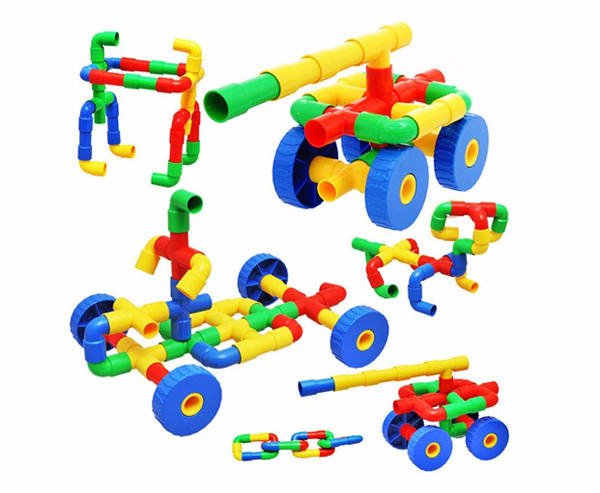 Tube and Tyres Building Blocks