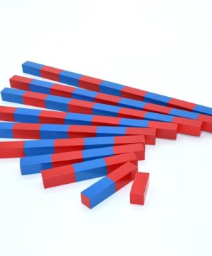 Montessori Number Rods