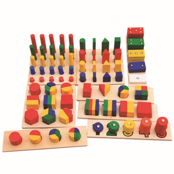 8 Pcs GEometry Shapes Learning Toy