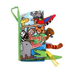 Jungly Tails Washable Cloth Books for Kids