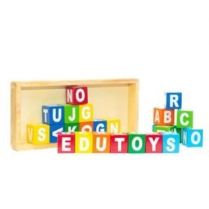 Alphabet Blocks Wood - 26 Pcs
