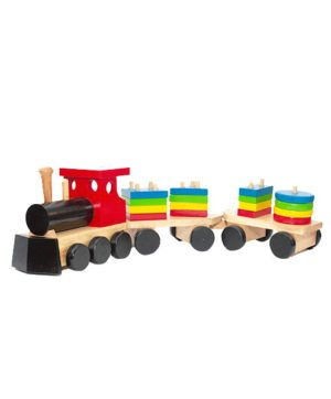 Shape Sorting Train - Colour