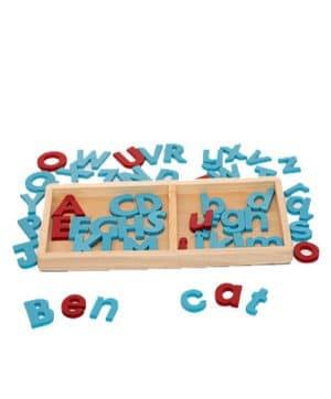 Alphabet in Tray