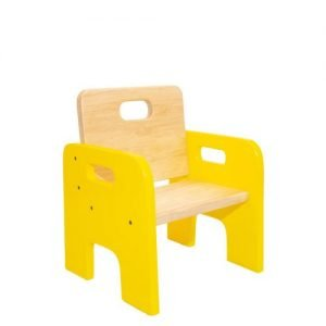 Toddler Chair - BlueToddler Chair - Yellow and Wood 1