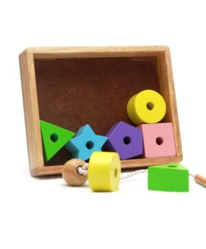Threading Beads - Coloured