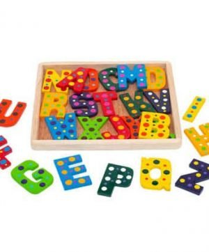 Alphabet Upper Case - Coloured