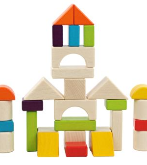 30 Pcs - Wooden Building Blocks