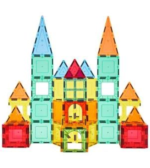 Magnetic Tiles - 49 Pcs Building Blocks